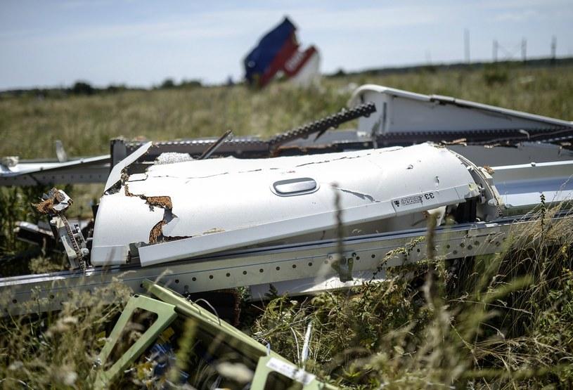 Szczątki zestrzelonego boeinga /AFP