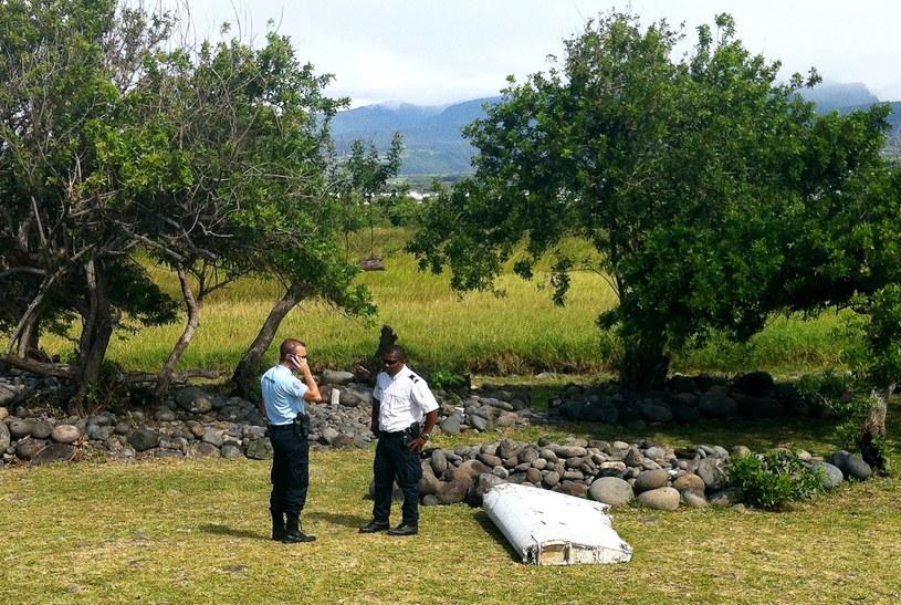 Szczątki znalezione na wyspie Reunion /YANNICK PITON /AFP