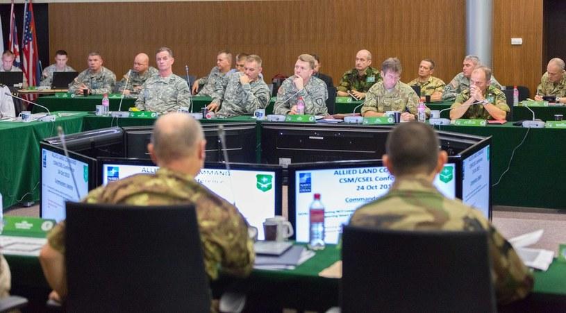 Szczecin. Spotkanie Dowodców Korpusów Wojsk Lądowych NATO /Robert Stachnik /Reporter