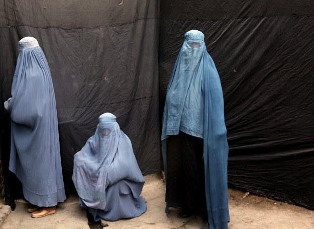 Szczelnie załonięte muzułmanki podczas święta Aszura /Getty Images/Flash Press Media