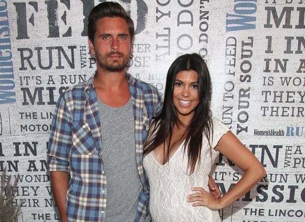 Szczęśliwi rodzice: Kourtney Kardashian i Scott Disick /Getty Images