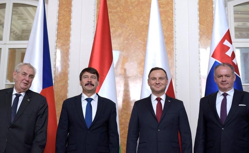Szczyt prezydentów V4 w Polsce /Omar Marques / Anadolu Agency /East News