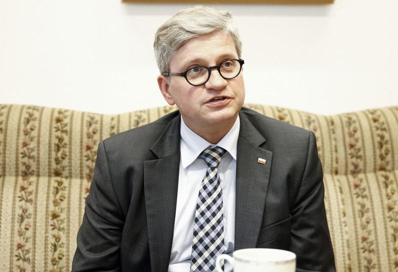 Szef Biura Bezpieczeństwa Narodowego Paweł Soloch /Jerzy Dudek /FORUM