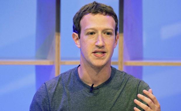 Szef Facebooka Mark Zuckerberg: Jest mi przykro za naruszenie zaufania