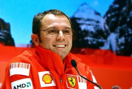 Szef Ferrari Stefano Domenicali /AFP