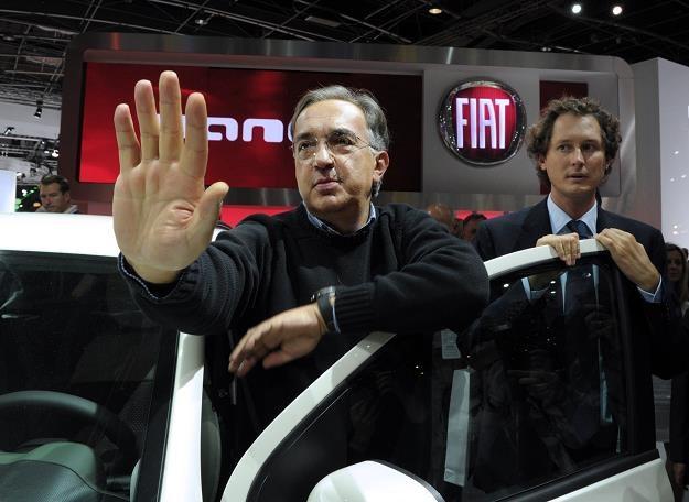 Szef Fiata Sergio Marchionne dopiął swego /AFP