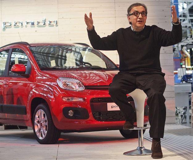 Szef Fiata Sergio Marchionne zapewne ma pomysł na współpracę z Mazdą /AFP
