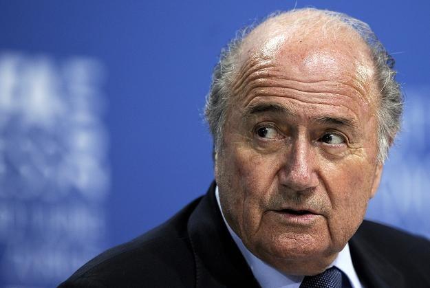 Szef FIFA Sepp Blatter (na zdjęciu) przeprosił wszystkich kibiców /AFP