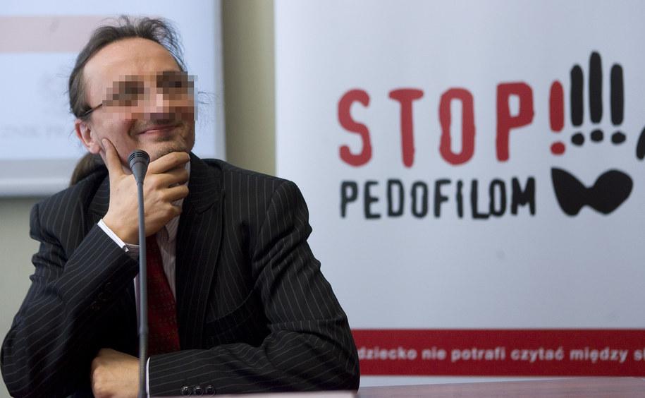 Szef Fundacji Kidprotect.pl Jakub Ś. /Paweł Kula /PAP