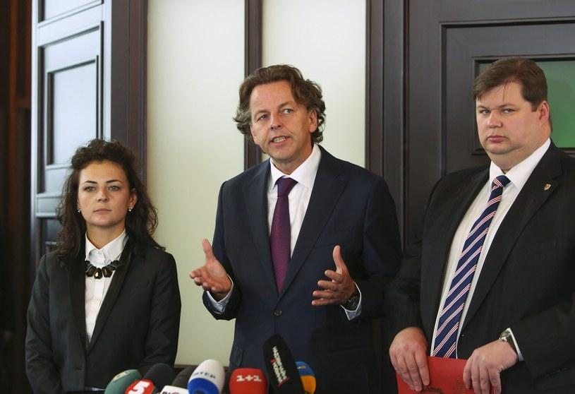 Szef holenderskiej dyplomacji Bert Koenders /PAP/EPA