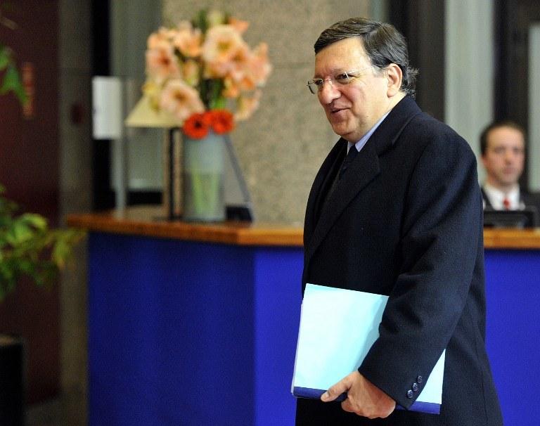 Szef KE Jose Manuel Barroso /AFP