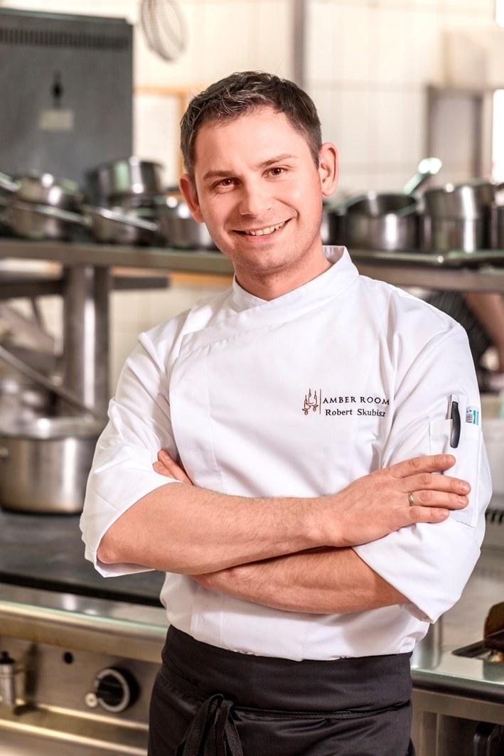 Szef kuchni restauracji Amber Room – Robert Skubisz /materiały prasowe