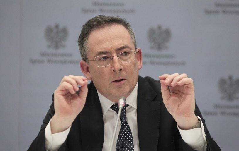 Szef MSW Bartłomiej Sienkiewicz. /Stanisław Kowalczuk /East News