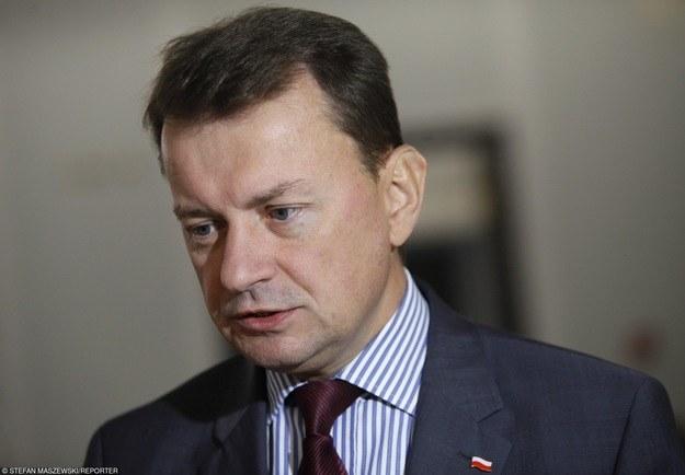 Szef MSWiA Mariusz Błaszczak /Stefan Maszewski /Reporter