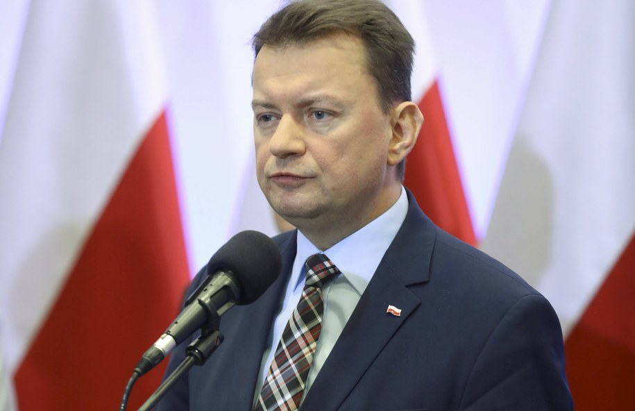 Szef MSWiA Mariusz Błaszczak /Rafał Guz /PAP