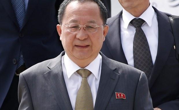 Szef MSZ Korei Północnej: Kolejne próby nuklearne zależą od zachowania USA