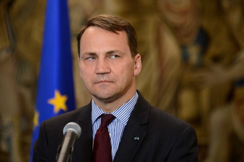 Szef MSZ Radosław Sikorski /Mateusz Jagielski /East News
