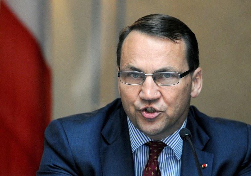 Szef MSZ, Radosław Sikorski /AFP