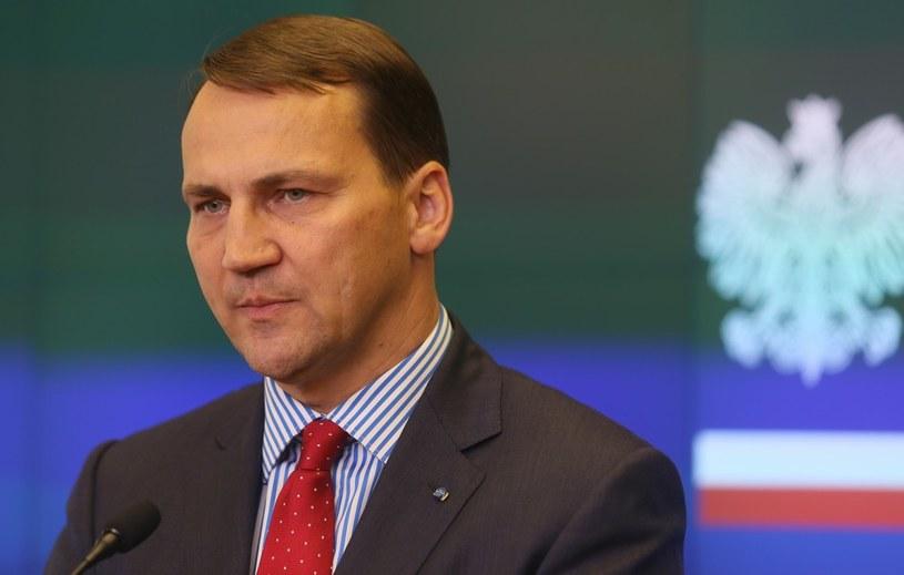 Szef MSZ, Radosław Sikorski /Mariusz Grzelak /Reporter