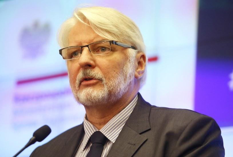 Szef MSZ Witold Waszczykowski /Stefan Maszewski /East News