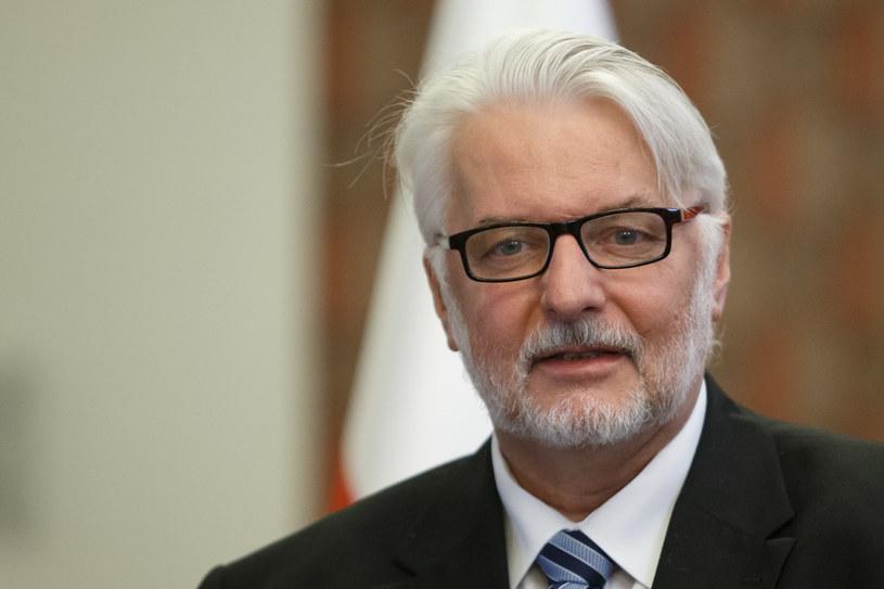 Szef MSZ Witold Waszczykowski /Fot: Krystian Maj /FORUM