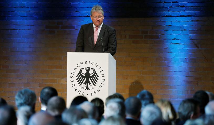 Szef niemieckiego wywiadu Bruno Kahl /HANNIBAL HANSCHKE /AFP
