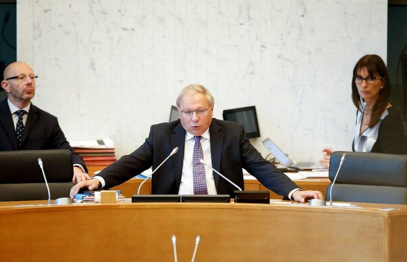 Szef parlamentu Walonii Andre Antoine /AFP