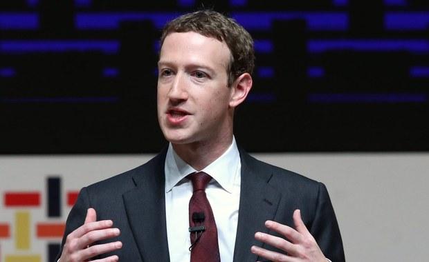 Szef PE: Zuckerberg musi wyjaśnić związki Facebooka z Cambridge Analytica