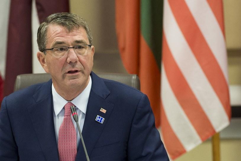 Szef Pentagonu Ashton Carter /AFP