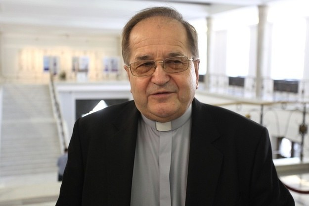 Szef Radia Maryja o. Tadeusz Rydzyk. /Stefan Maszewski. /Reporter