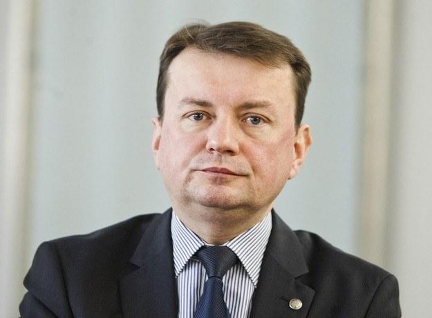 Szef resortu spraw wewnętrznych Mariusz Błaszczak /Adam Guz /Reporter