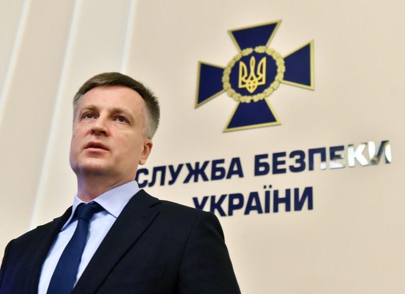 Szef SBU Wałentyn Naływajczenko /AFP
