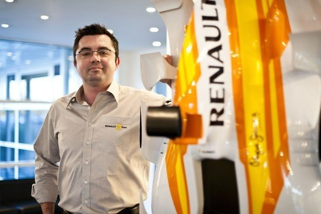 Szef teamu Renault Eric Boullier /AFP