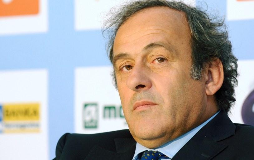 Szef UEFA Michel Platini /AFP