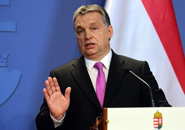 Szef węgierskiego rządu Viktor Orban /AFP