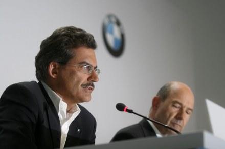 Szef zespołu BMW Sauber Mario Theissen /AFP