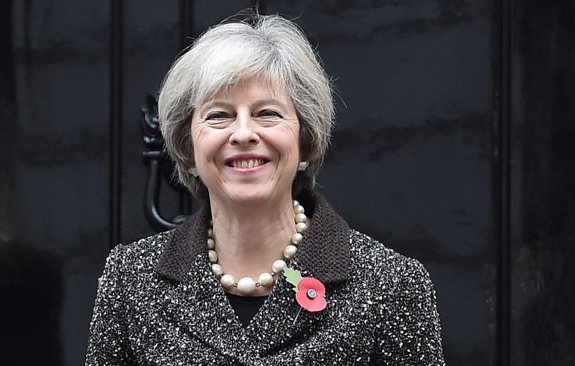 Szefowa brytyjskiego rządu Theresa May /PAP/EPA