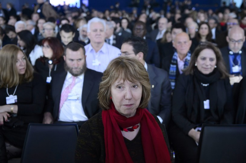 Szefowa dyplomacji UE Catherine Ashton. /LAURENT GILLIERON /EPA