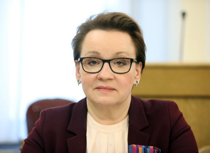 Szefowa MEN Anna Zalewska /STANISLAW KOWALCZUK /East News