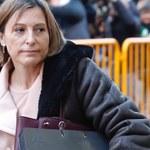 Szefowa parlamentu Katalonii będzie zwolniona za kaucją