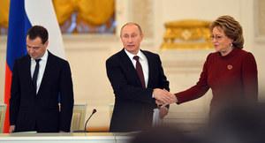 Szefowa Rady Federacji: Możemy wysłać kontyngent wojskowy na Krym