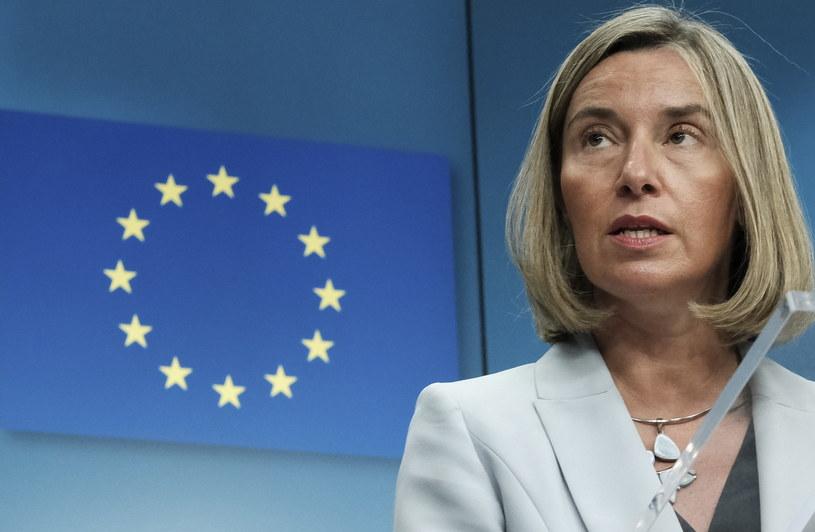 Szefowa unijnej dyplomacji Federica Mogherini /OLIVIER HOSLET /PAP