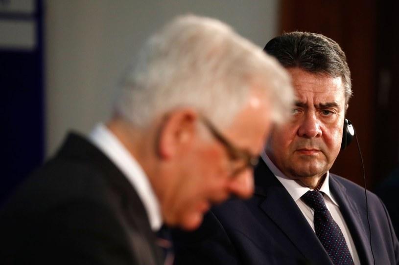 Szefowie dyplomacji Polski i Niemiec /ODD ANDERSEN /East News