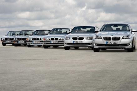 Sześć generacji BMW 5 /
