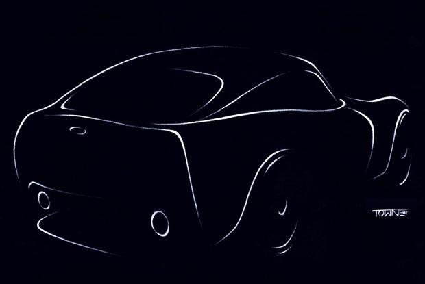 Szkic koncepcyjnego coupe TVR (kliknij) /INTERIA.PL