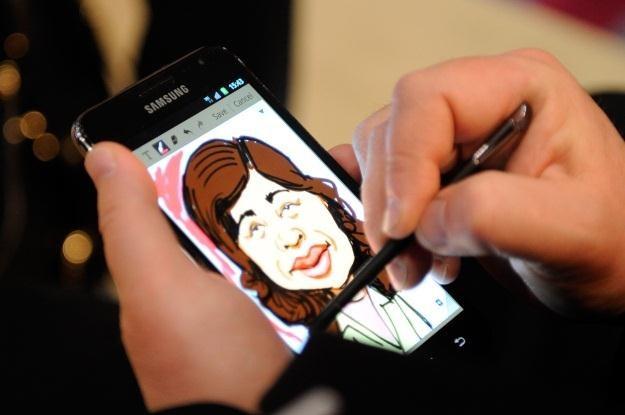 Szkicowanie w pierwszym Galaxy Note było jedną z najprzyjemniejszych czynności /AFP