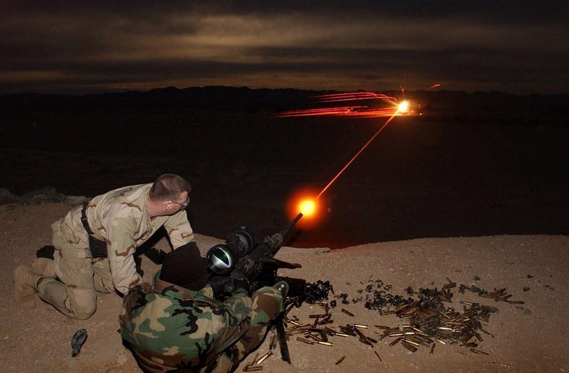 Szkolenie przygotowuje przyszłych komandosów do prawdziwego piekła na polu walki /Getty Images
