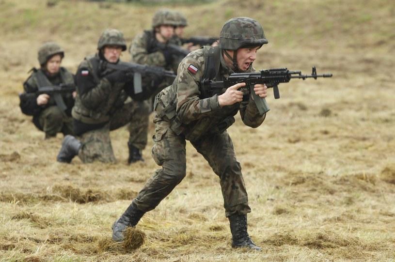Szkolenie wojskowe dla organizacji proobronnych /STEFAN MASZEWSKI/REPORTER /Reporter