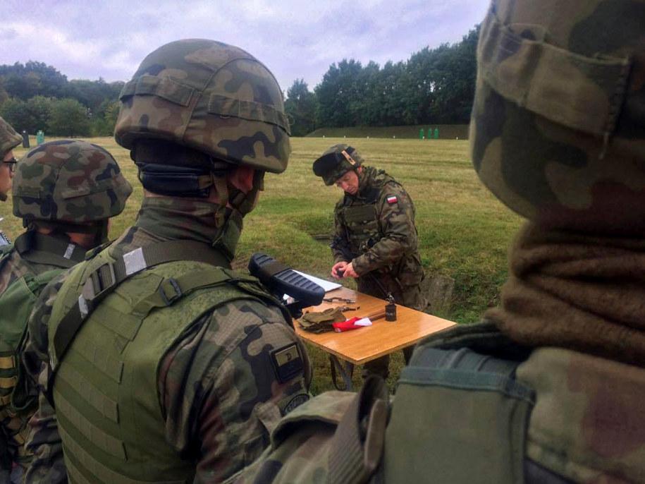 Szkolenie wojskowe w Szczecinie /Aneta Łuczkowska (RMF FM) /RMF FM