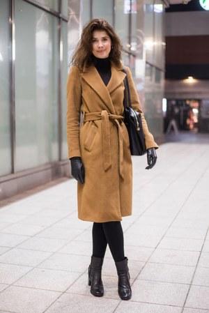 Szlafrokowy płaszcz